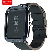 Pour Amazfit Bip étuis montres intelligentes protecteur pour Huami couvre Midong coque PC SIKAI bip lite A1608 accessoires sangle