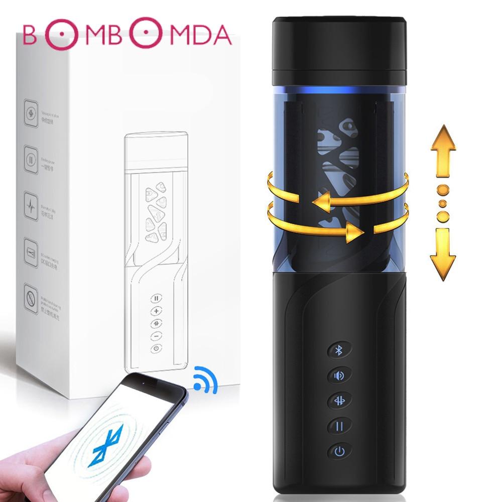 Adult Sex Toy Vibrator For Men Masturbation Cup Automatic Telescopic Oral Blowjob Sucking Artificial Vaginal Sex Machine For Men