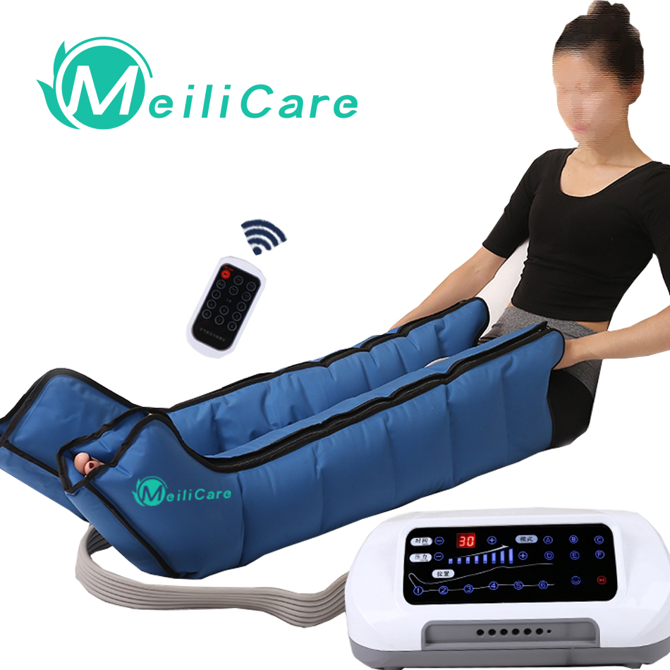 CE Presoterapia Air Compression Leg Foot Massager Lymphatic Massage Machines Body Relax Pain Relief Machine