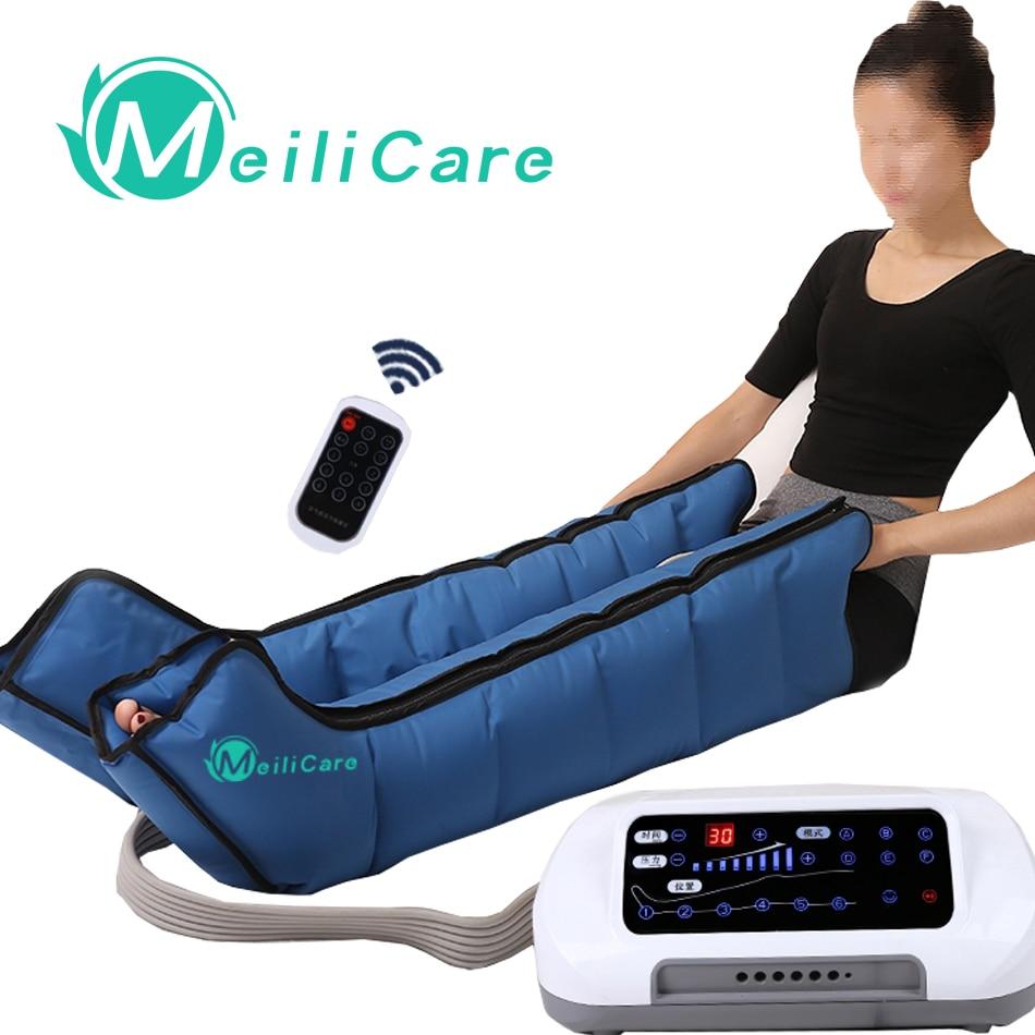 CE presotherapia Air Compression Leg Foot Massager Lymphatic Massage  Machines Body Relax Pain Relief Machine|Leg Massage Apparatus| - AliExpress
