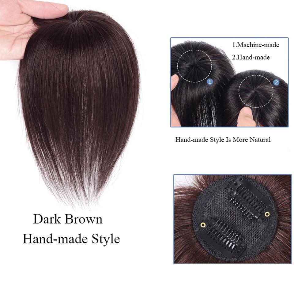 Feminino peruca com franja sintético em linha