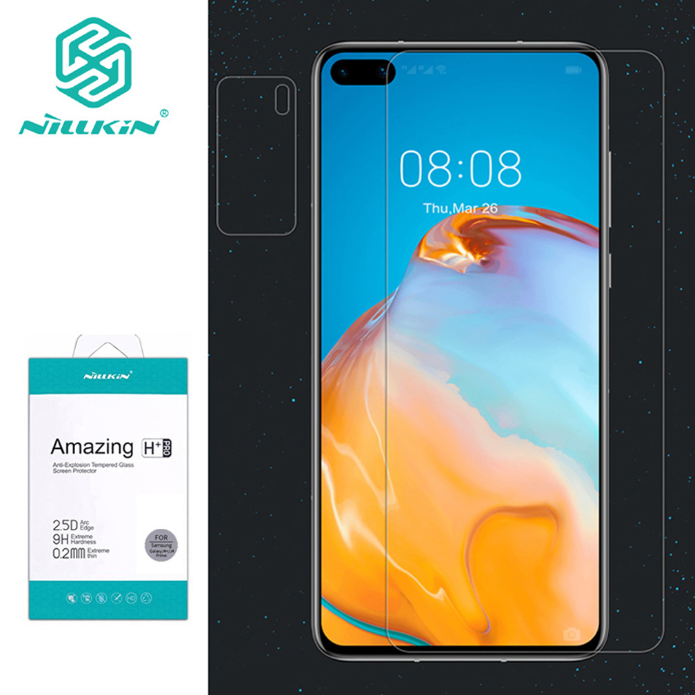 For Huawei P40 Glass Nillkin H/H+ PRO Ultra-Thin Tempered Glass Screen Protector Anti-Scratch For Huawei P40 Pro Nilkin Glass