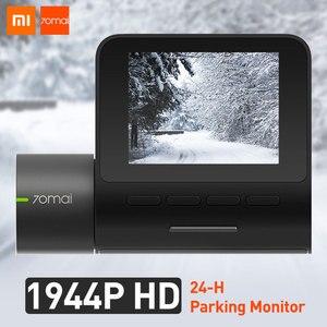 Image 3 - 70mai דאש מצלמת פרו GPS ADAS מהירות & קואורדינטות רכב DVR מצלמה Wifi 1944P HD קול שליטה 70 מאי dashcam 24H חניה צג