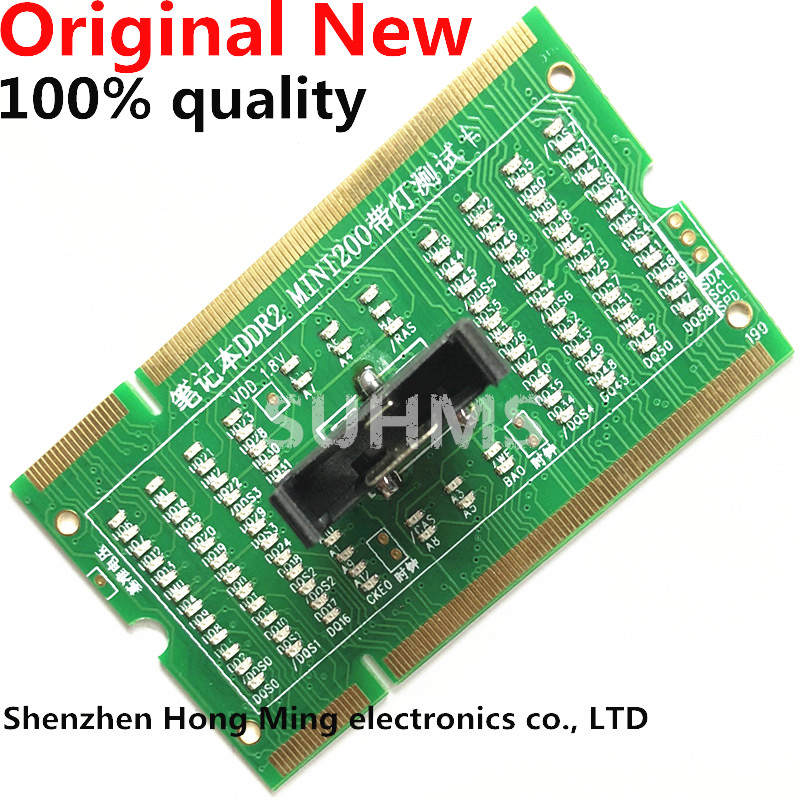 Led-Tester-Card Diagnostic-Analyzer Notebook Memory-Slot Laptop Ddr3/ddr4 SDRAM So-Dimm-Pin-Out