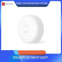 Oryginalny Xiaomi mijia yeelight LED nocne światło podczerwone magnetyczne z hakami zdalny czujnik ruchu ciała dla Xiaomi Smart Home