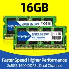 Laptop ddr3 16GB 1600mhz 1,35 v ram optional Dual kanal 32GB 1600mhz ddr 3 notebook