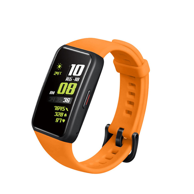 Soft Silicone Sport Band Straps For Huawei Honor Band 6 Smart Wristband Replacement Watch Strap Bracelet For Honor Band 6