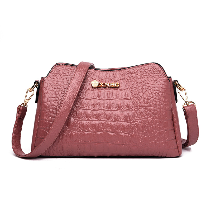 Hot Sale High Quality Flap Bag Women's Genuine Leather Handbags Alligator Shoulder CrossBody Bags For Women Tote Bags