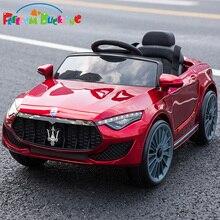 Специальная цена, Детский Электрический двухприводной автомобиль, детский четырехколесный пульт дистанционного управления, может сидеть автомобиль, детские качели, игрушечный автомобиль с толкателем