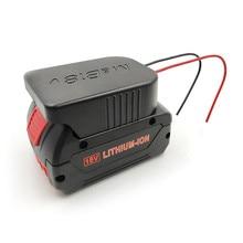 Прочный литий ионный аккумулятор конвертер для DIY Кабель выходной адаптер для Makita 18 в для Bosch 18 В литиевая батарея конвертер аксессуары