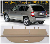 Car Rear Trunk Cargo Cover Security Shield Screen shade Fits For Jeep Compass 2007 2008 2009 2010