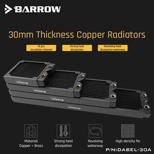 Image 2 - 배 로우 Dabel 30a 480 구리 라디에이터 30mm 두께 14pcs 순환 채널 120mm 팬에 적합