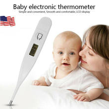 Digital LED Thermometer Baby Adult Body Safe Oral Electronic Thermometer Newborn Baby Mouth Thermometers(China)