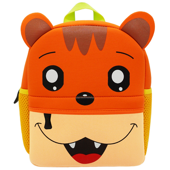 3D Cartoon Children Backpacks School Bags Baby Cut Toddler Kids Bag Neoprene Animal Backpack Kindergarten Bag Girl Boys 1-5Y - YT001-A3-2