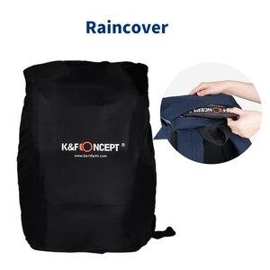 Image 5 - K & F KONZEPT Große Kapazität Multi funktionale Wasserdichte Kamera Rucksack Reisetasche Mit Brust Gürtel Halten SLR Stativ