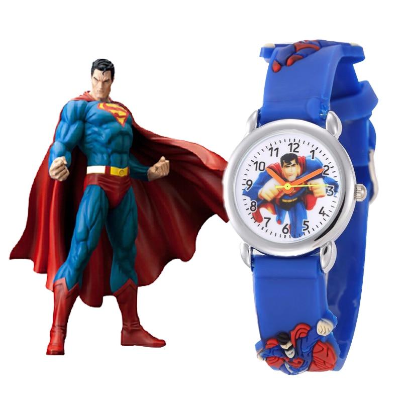 Marvel Heroes 3D Watch Children New Fashion Casual Cartoon Quartz Watch Drop Shipping Boys Girls Gift Clock Montre Enfant Garcon