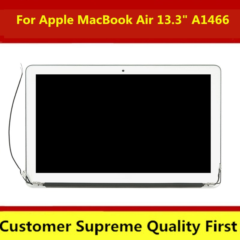 """Genuine for Apple MacBook Air 13.3"""" A1466 LCD Screen Display Full Assembly 2013 2014 2015 2017 Year MD760 MJVE2 MQD32(China)"""