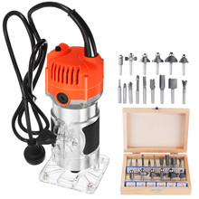 Laminate Woodworking-Tool Palm-Router Edge-Joiners Electric-Hand-Trimmer Drillpro 35000rpm