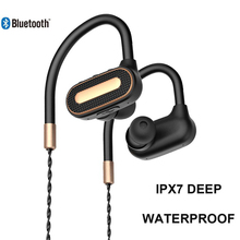 Bluetooth Earphone For Phone Bluetooth Headset Ipx7 Waterproof Noise Cancelling Wireless Earbuds Headphones For Mobile Phone bluetooth 5 0 earbuds wireless earphone headphones handsfree noise cancellation headset for phone android