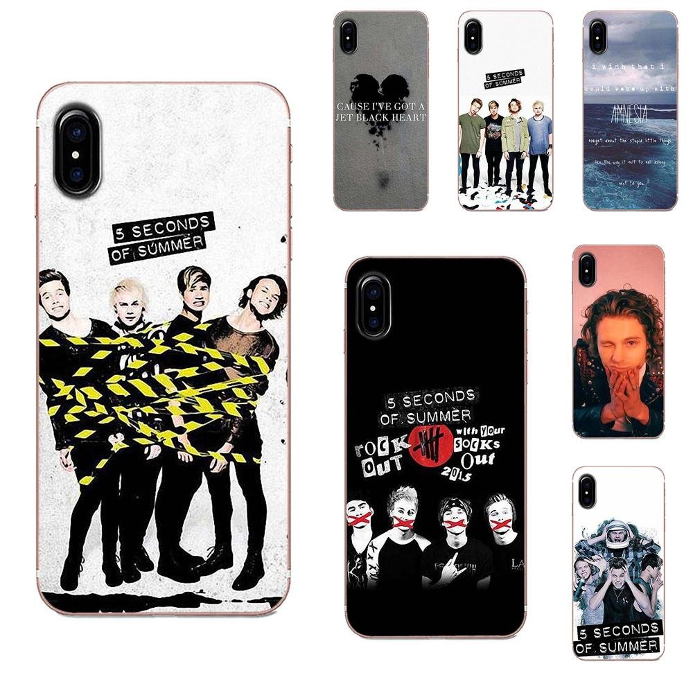 <font><b>5</b></font> Seconds Of Summer 5sos Picture Phone Case For Galaxy Grand A3 <font><b>A5</b></font> A7 A8 A9 A9S On5 On7 Plus Pro Star 2015 <font><b>2016</b></font> 2017 2018 image