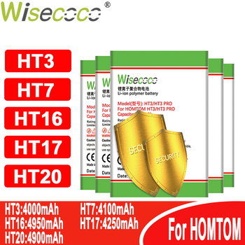 WISECOCO Battery For Homtom battery ( HT3 HT7 HT16 HT17 HT20 ) Pro Phone In Stock+Tracking number image