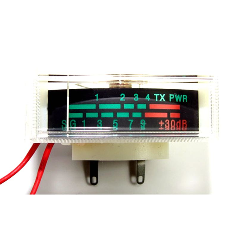 Level Signal Indicator Head With Backlight TX PWR DB Table Electronic Instrument Indicating +3DB