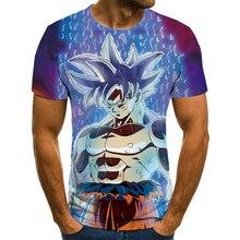 Nueva e interesante camiseta anime de verano de los hombres de 3D impresión casual 3D camiseta 3D de impresión de los hombres y las mujeres camiseta casual top 20