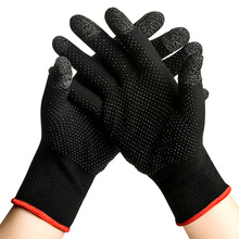 2pcs Hand Cover Game Controller Anti Slip Touch Screen Gloves Breathable Sweatproof Thermal Touch Screen Gaming Finger Gloves