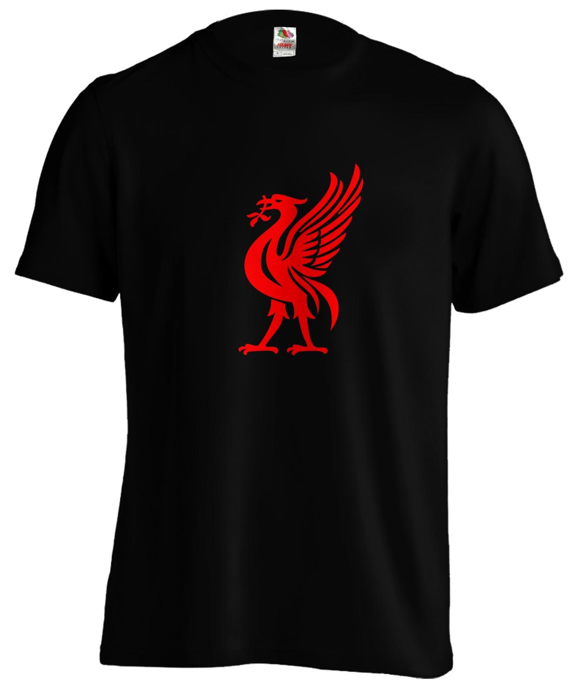 Liverpool - Liver Bird - Football - T Shirt Tee 2019 New Fashion O Neck Slim Fit Tops Skate T Shirt
