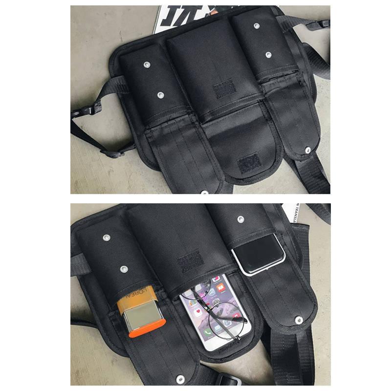 Female Hip hop Tactics Backpack Men 39 s Bag Women 39 s Casual Solid Bagpack Multifunction Bags Anti theft Waterproof Travel Backpacks in Backpacks from Luggage amp Bags