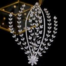 Stylish wedding bridal tiara, hair accessories, side clips, feminine accessories, dinner hair accessories