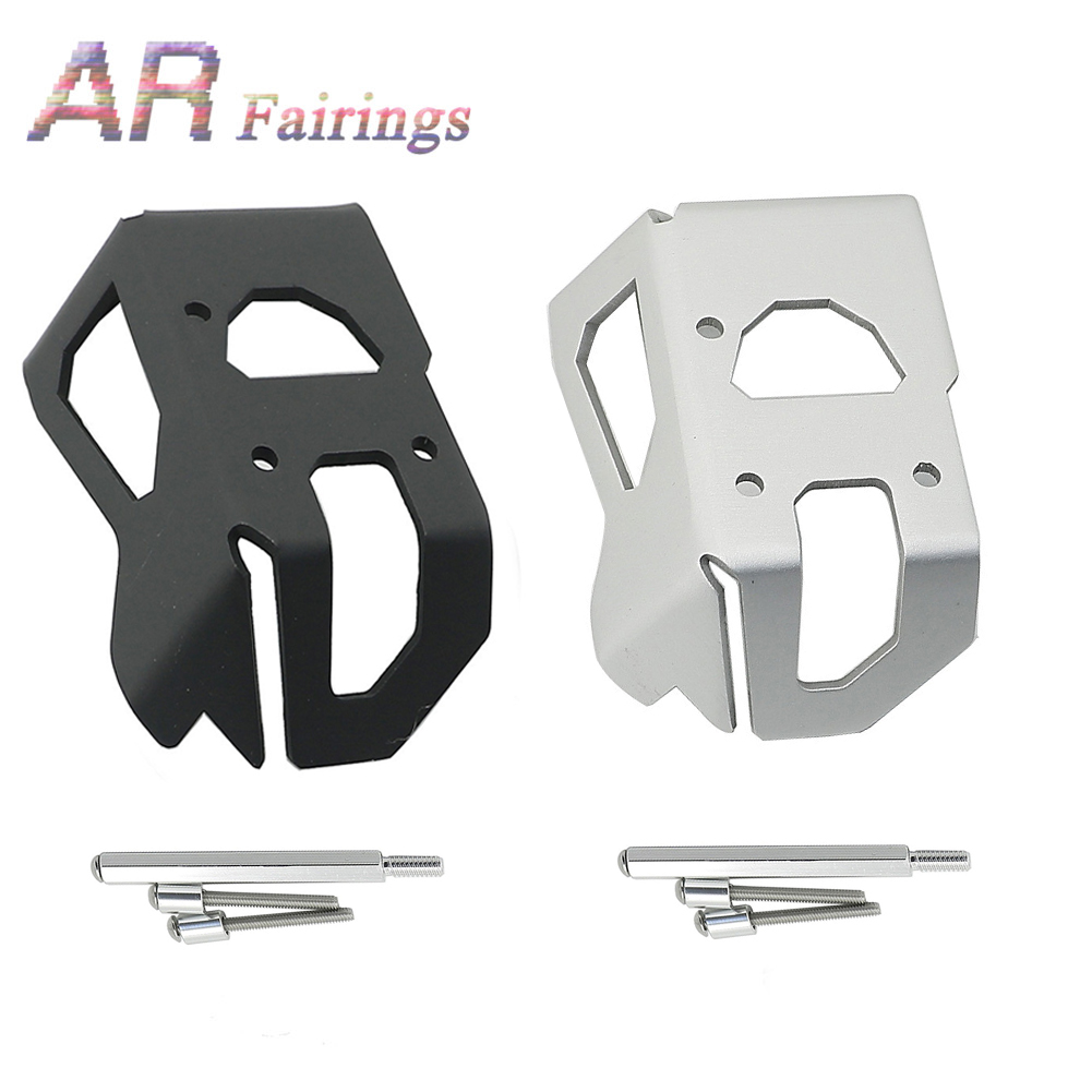 For <font><b>BMW</b></font> Oil Cooled R1200R <font><b>R1200RT</b></font> R1200GS ADV 2005 - 2012 R 1200 GS/R/RT Motorcycle Throttle Protention Guard Cover Black Silver image