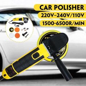 Image 2 - Alta qualidade elétrica dupla ação choque polisher 220v polimento máquina de depilação velocidade ajustável auto lock aleatório