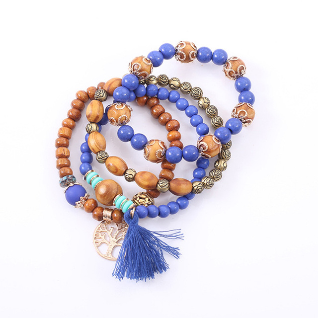 Rose sisi jewelry friends bohemian bracelets for women bracelet natural stone bracelet Fashion ladies clothing accessories 3