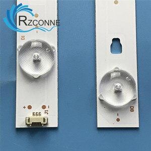 Image 4 - LED Backlight strip 8 lamp for 48C6 LS48H310G  LE48G520N LED48D08 ZC21AG 01 LE48D8 03(D)  A 30348008220 LE48B510F LSC480HN10