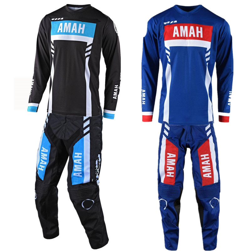 2020 Motocross Jersey And Pants For Yama Gloves Motorcycle Suit Dirt Bike MX Gear Set Motorcycle Kits