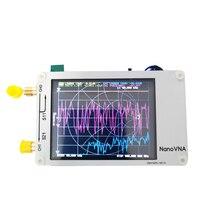 С батареей NanoVNA векторный сетевой анализатор цифровой сенсорный экран коротковолновой MF HF VHF UHF антенный анализатор стоящая волна