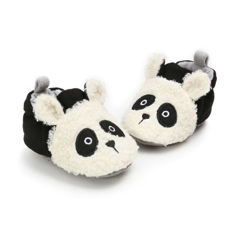Winter Cute Baby Girls Boys Shoes Snow Booties Lovely Animal Soft Sole Toddler Non-Slip Crib Shoes Todler Infant Casual Shoes