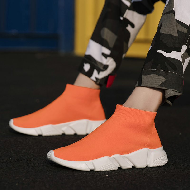 BIGFIRSE Casual Shoes For Men Comfortable Light Rubber Man Fashion Sneaker Spring Flat Shoes Zapatillas Hombre 2020 Men Sneakers