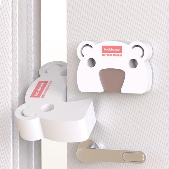 2pc Cartoon Door Stopper Baby Safety Door Block Door Clip Anti-pinch Hand Baby Safety Door Card Baby Safety Accessories Dropship 1