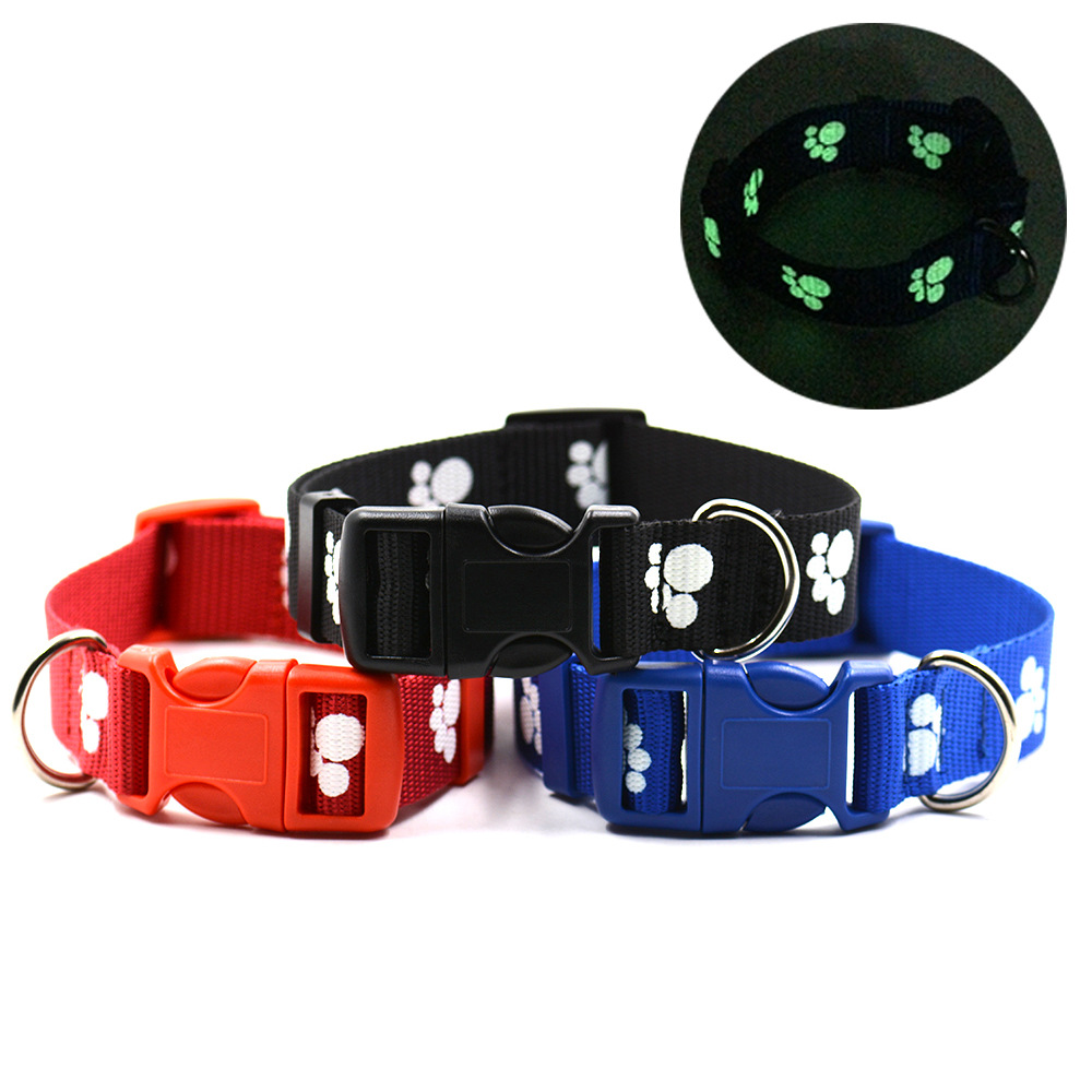 Shenzhen Guangzhou Pet Supplies Pet Night Light Reflective Hand Holding Rope Dog Traction Belt Pet Traction