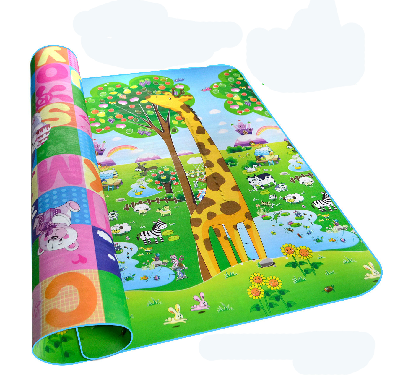 Baby Play Mat 0.5cm Thick Crawling Mat Double Surface Baby Carpet  Developing Mat For Children Game Pad
