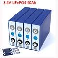 4000967670436 - Liitokala, batería de 3,2 V, 90Ah, LiFePO4, fosha de litio de gran capacidad, 12V 24V 48V 90000mAh, baterías de motor de coche y motocicleta eléctrica