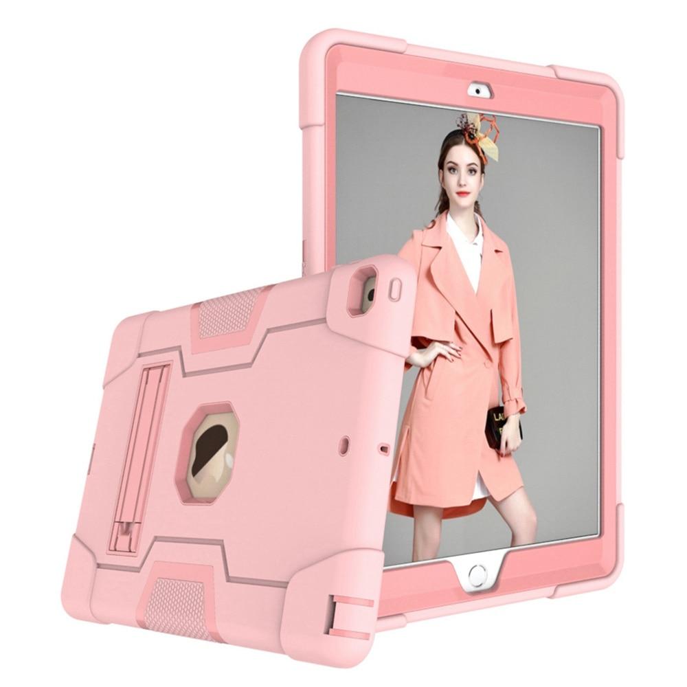 Rose Gold Orange For iPad 10 2 2019 7th Gen A2197 A2198 A2200 A2232 Case Shockproof Kids Safe PC