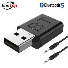 Беспроводной Bluetooth 5,0 приемник адаптер 2 в 1 Bluetooth стерео аудио передатчик приемник для автомобиля наушники ТВ динамик Z4