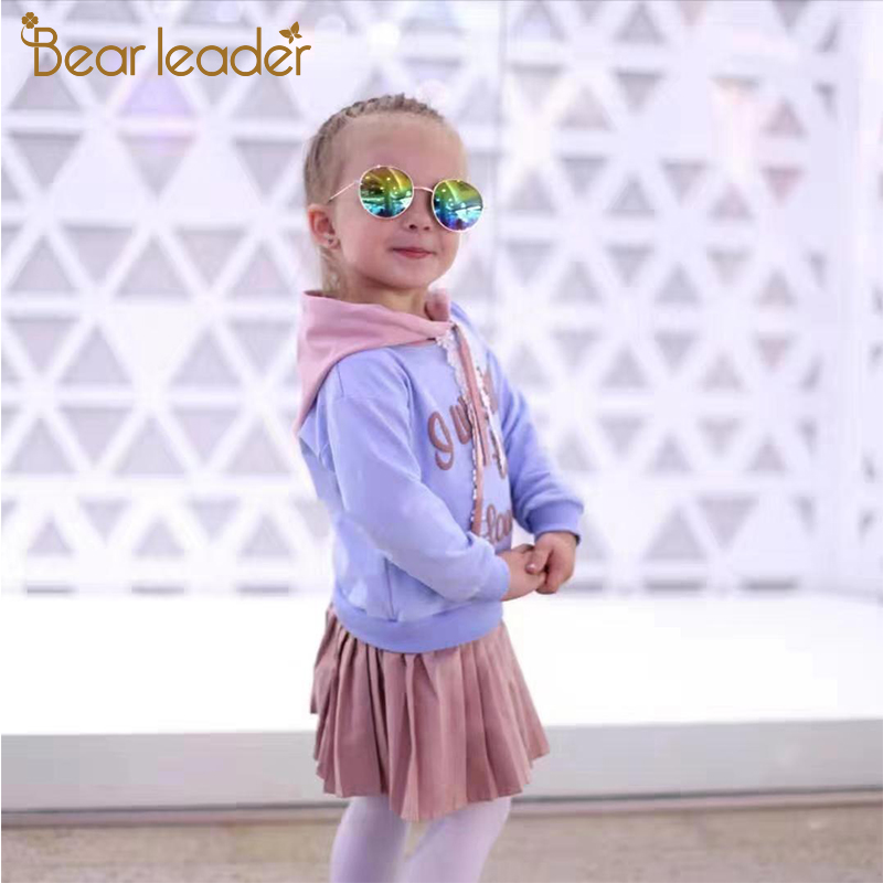 Hdf6246ff9841499f9c4d41e778f41980A Bear Leader Girls Dress 2019 New Autumn Casual Ruffles A-Line Striped Full Sleeve Kids Dress For 3T-7T