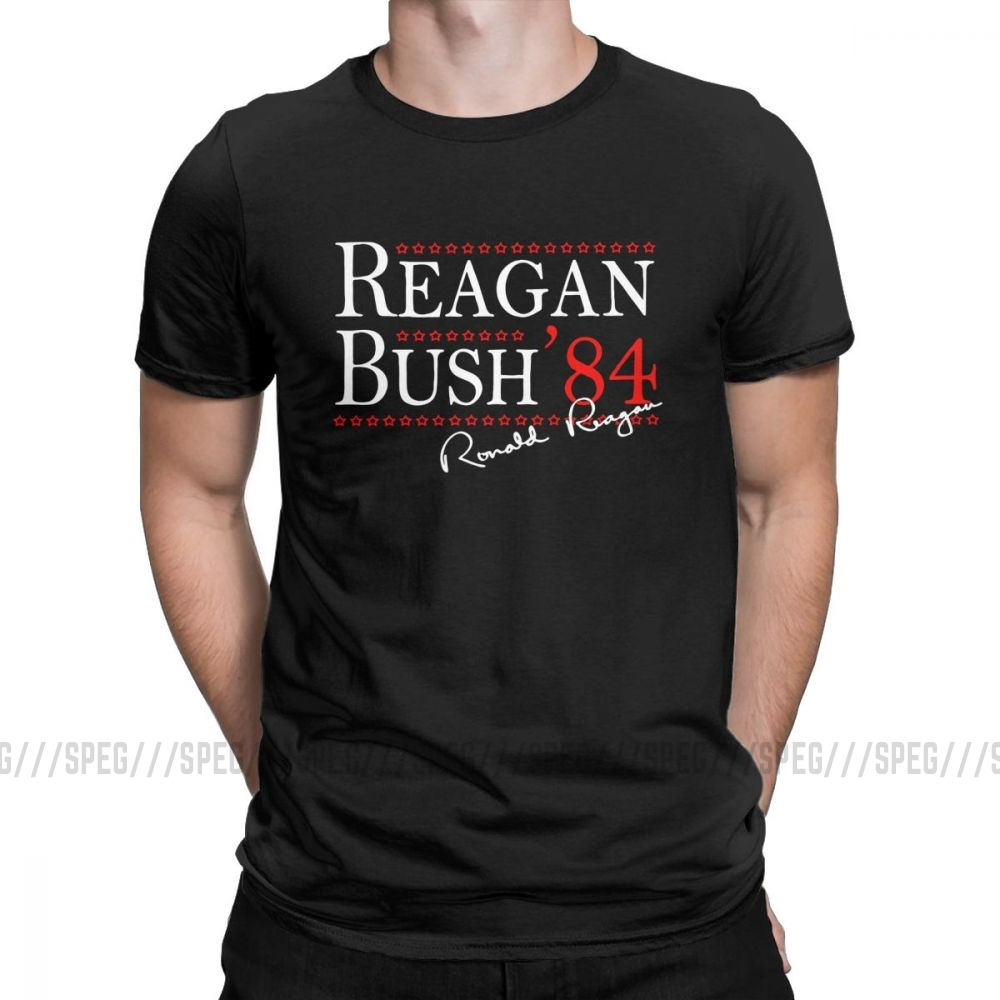Ronald Reagan American President  Men Shirts T-Shirt Tee