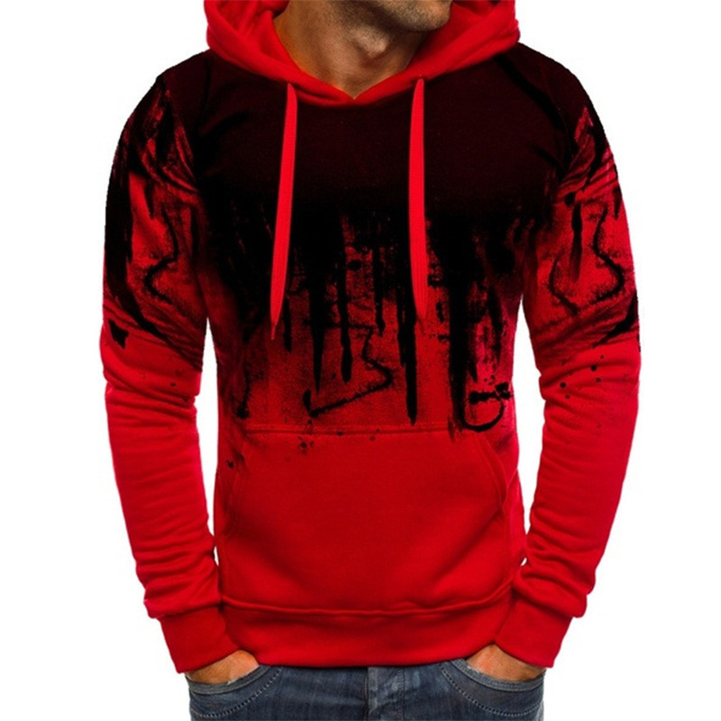 Men Autumn&Winter Breathable Comfortable Soft Long Sleeve Winter Warm Casual Wild Running Hoodies Sweatshirts