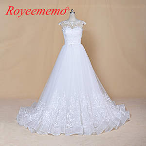 Image 1 - 2020 ใหม่ออกแบบชุดแต่งงาน Vestidos de เจ้าสาวเจ้าสาวชุดที่กำหนดเองทำชุดแต่งงานโรงงาน