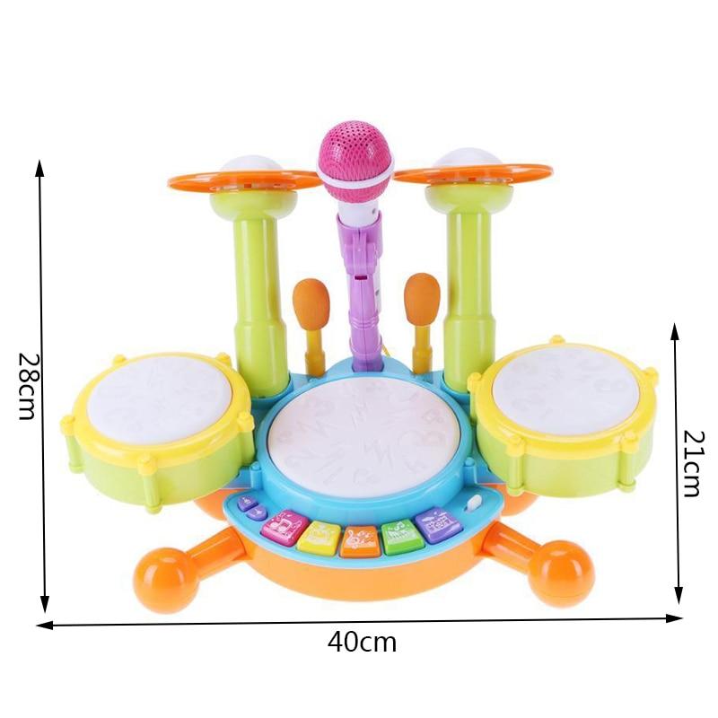 tambor kit eletrônico percussão instrumento musical presentes
